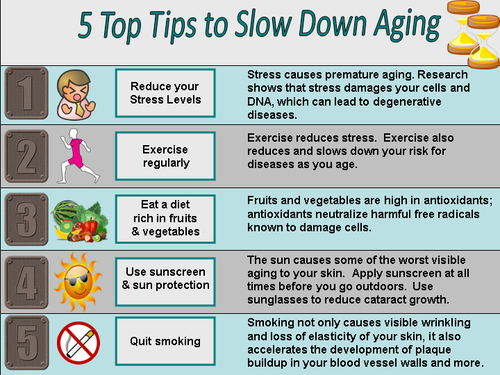 5 Ways to Slow Down the Aging of Your Brain