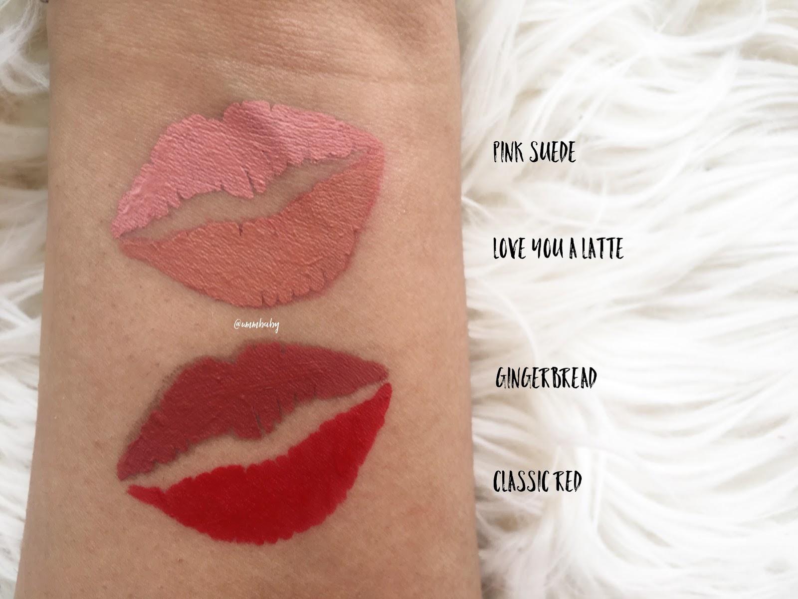 phase zero makeup liquid lipstick swatches, love me beauty phase zero makeup liquid lipsticks