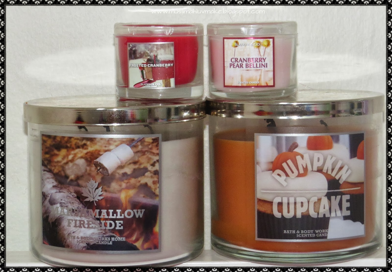 muslimahluvsmakeup bath and body works mini candle haul. Black Bedroom Furniture Sets. Home Design Ideas