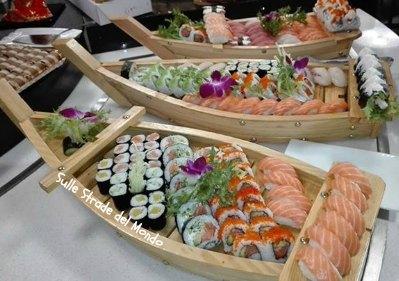 Shusi Sun mangiare giapponese a Roma