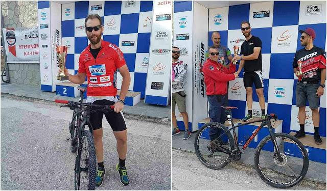 Πρώτος ο Θεσπρωτός ποδηλάτης Πέτρος Ζύλης στο 1-Day North Odyssey