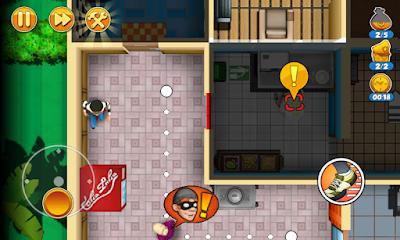 لعبة Robbery Bob 2 مهكرة للأندرويد، لعبة Robbery Bob 2 كاملة للأندرويد
