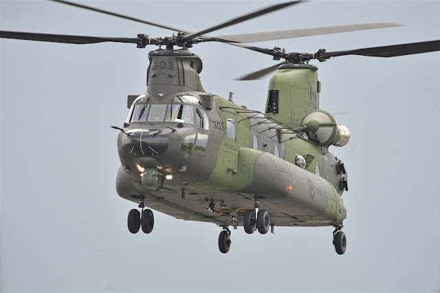 Chinook CH-47 of Royal Canadian Air Force
