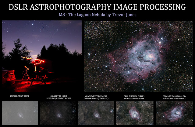 How to take a picture of a Nebula or Galaxy