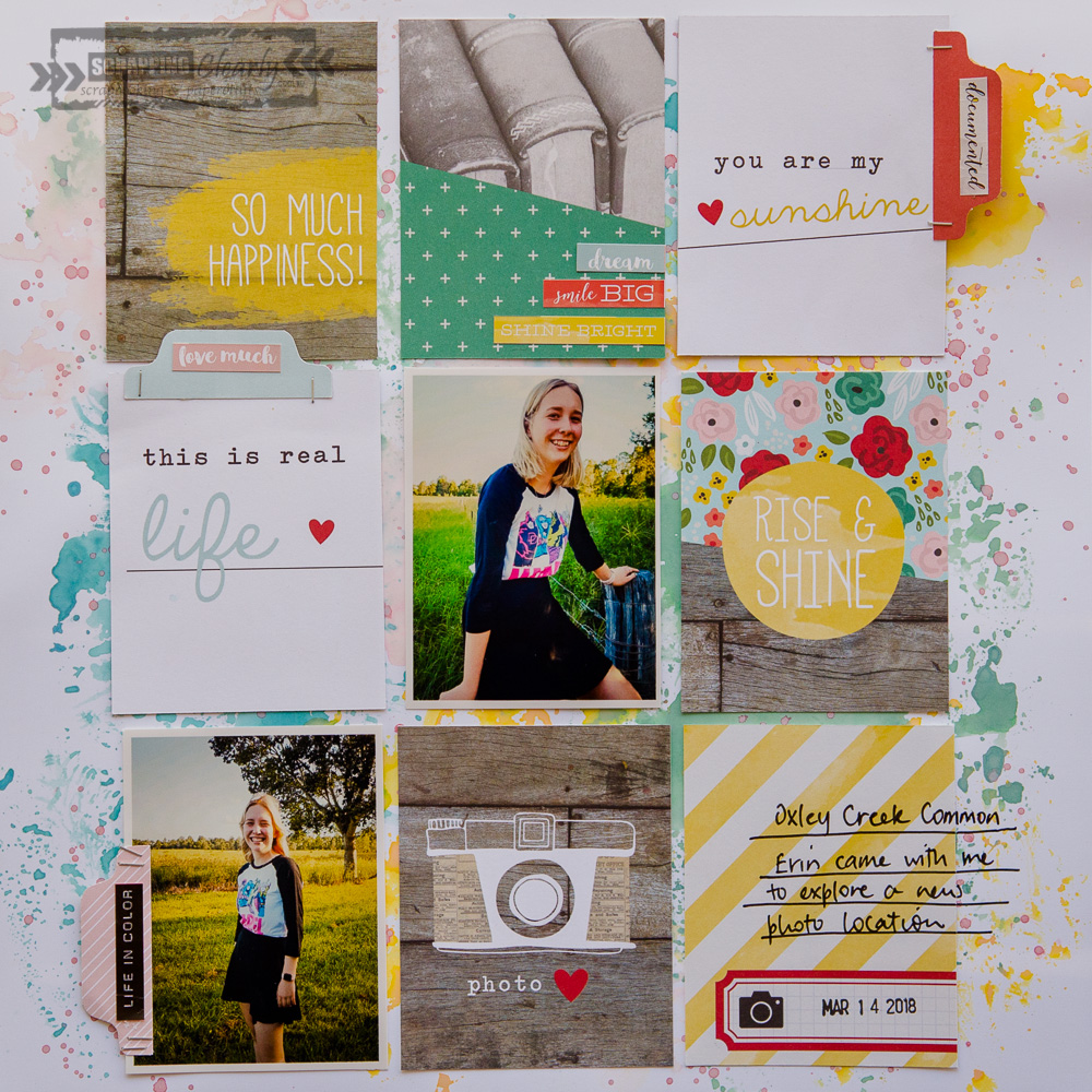 Scrappingclearly Scrapbooking And Papercrafts Using Project Life