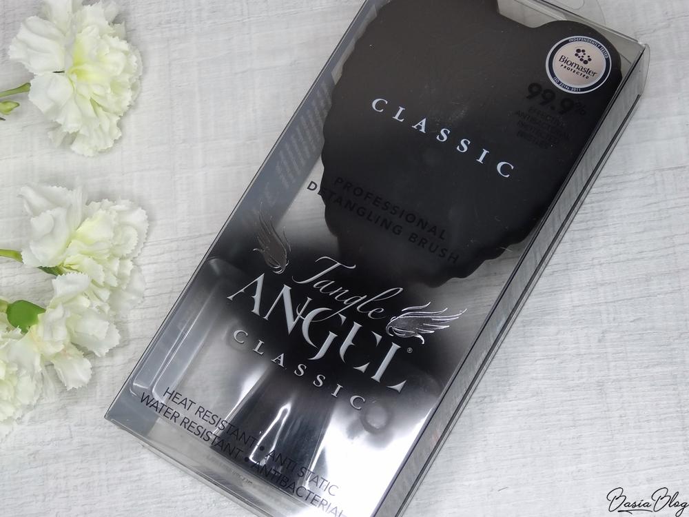 szczotka do włosów Tangle Angel Classic Black, porównanie z Tangle Teezer, D-Meli-Melo, DTangler