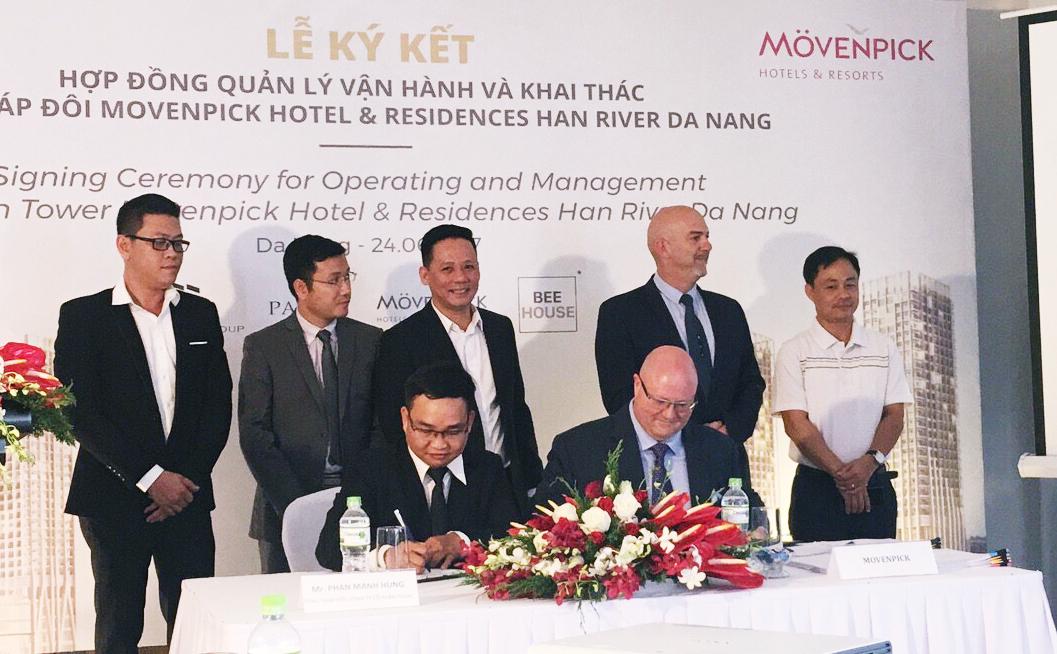 Tập đoàn Movenpick quản lý khách sạn Movenpick Han River Đà Nẵng