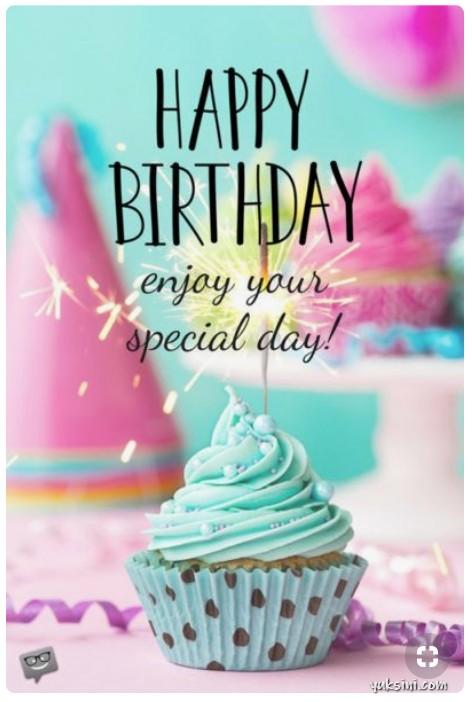 Kartu ucapan ulang tahun bahasa inggris. Happy Birthday, enjoy your special day. Jumlah repin 13K
