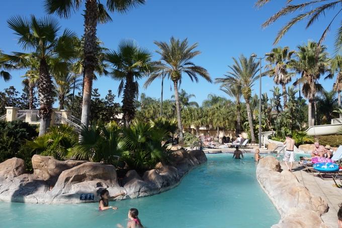 Regal Palms, vesipuisto ja majoitus Orlandossa