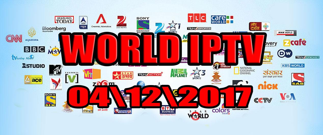 Free IPTV M3u World Channels List 4 12 2017 - Free World IPTV com
