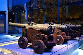 Cañones de bronce del Vasa