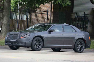2016 Chrysler 300 spyshots for side look hd wallpapers