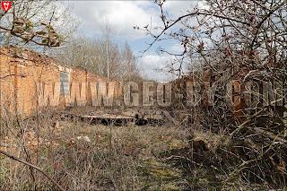 Внутри руин хозяйственной постройки XIX-XX веков