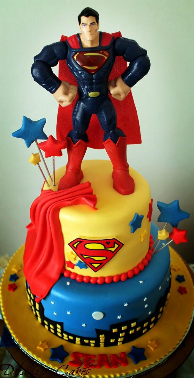 Delana S Cakes Superman Cake