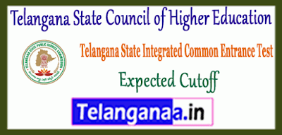 Telangana State Council of Higher Education Expected Cutoff