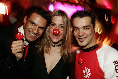 Photo: Jens Koch Pro7 Red Nose Day Michael Dierks, Gracia Baur & Daniel Lopez