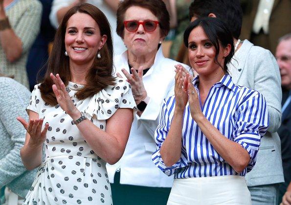 Kate Middleton wearing In2Design Baroque Pearl Earrings
