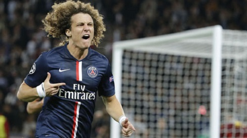 Luiz hiện đang thi đấu rất thành công trong màu áo PSG