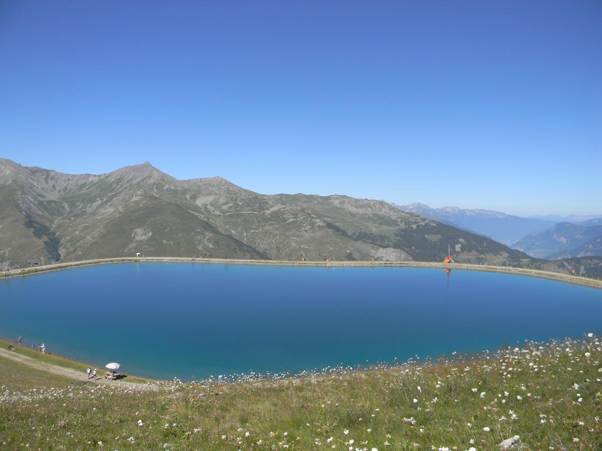 Lac Valloire été
