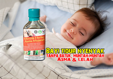 Merawat Semput, Asma dan Lelah Dengan Minyak Herba Asma Mujarab