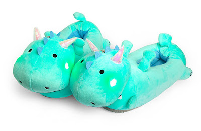 Dragon Light-Up Slippers