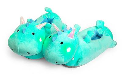 Dragon Light-Up Slippers