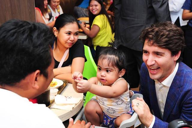 LOOK   mga Litrato ng Prime Minister ng Canada, Trending ngayon sa Social Media.