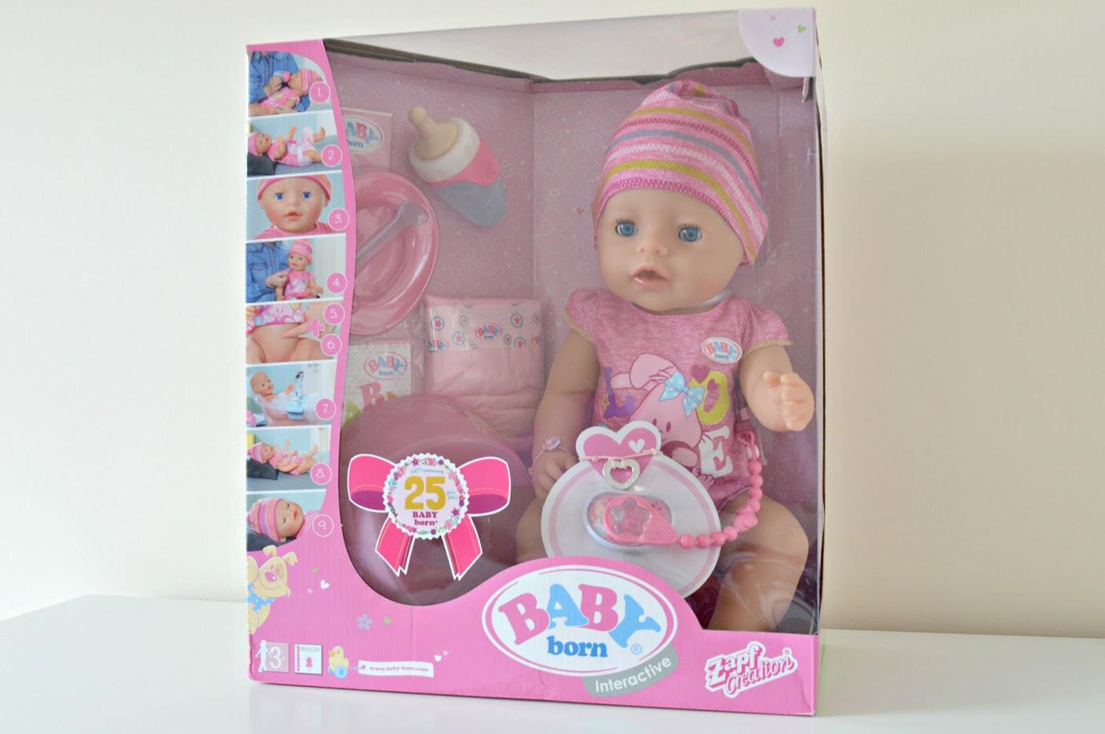 Interactive dolls Baby Born: description, reviews. Toys for children