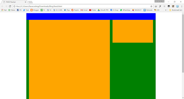 Cara Memposisikan Website Menjadi Fixed (Posistioning Fixed CSS)