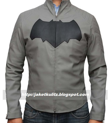 Model Jaket kulit batman ben affleck