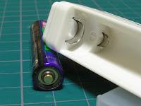 ユニークな形の電極