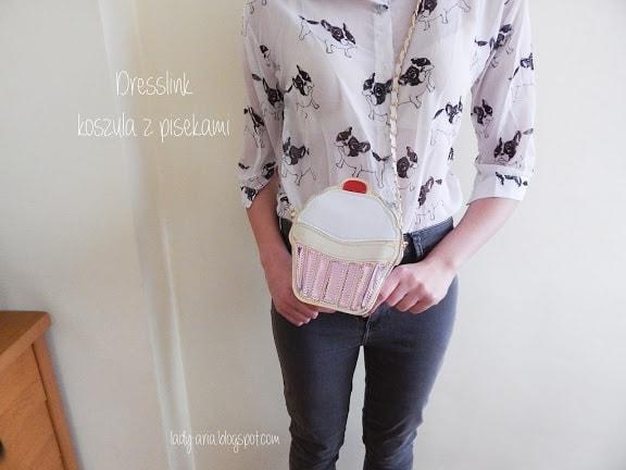 Dresslink - koszula w pieski | Chcę być KIMŚ