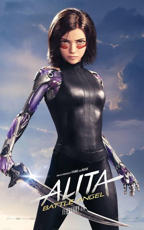 Anita - Anjo de Combate Poster 01