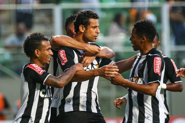 Fred anotou o primeiro gol do jogo (Foto: Bruno Cantini/Divulgação)