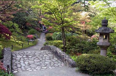 Lukisan Landskap Taman Jepun Cikimm Com