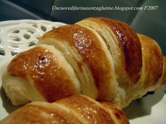 Ricetta Brioches Senza Glutine.Il Giorno Del Croissant Sfogliato Un Cuore Di Farina Senza Glutine