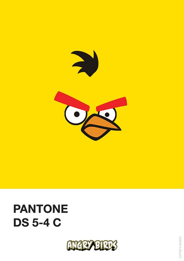 If It S Hip It S Here Archives Pantone Angry Birds By