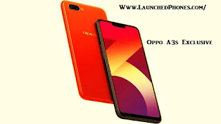 The nighttime imperial as well as Red colouring variants are launched for this New Oppo telephone Oppo A3s 2018! New as well as latest junk phone!