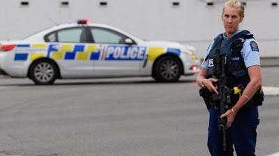Nueva Zelanda disparó al Sospechoso Acusado de 50 Asesinatos