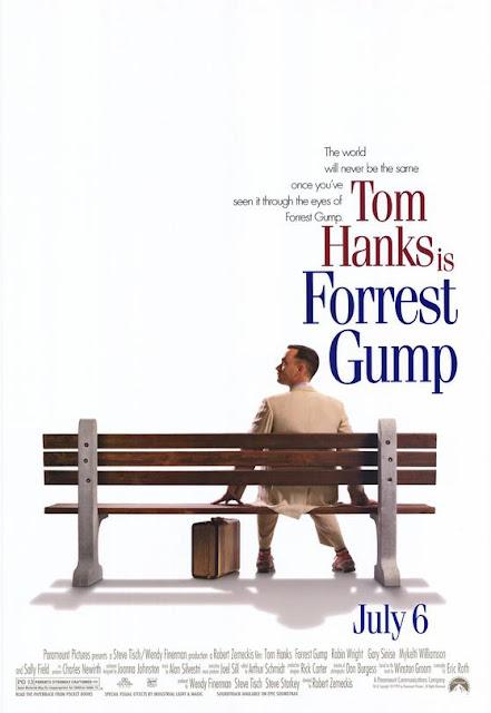 Forrest Gump 1994 movie poster