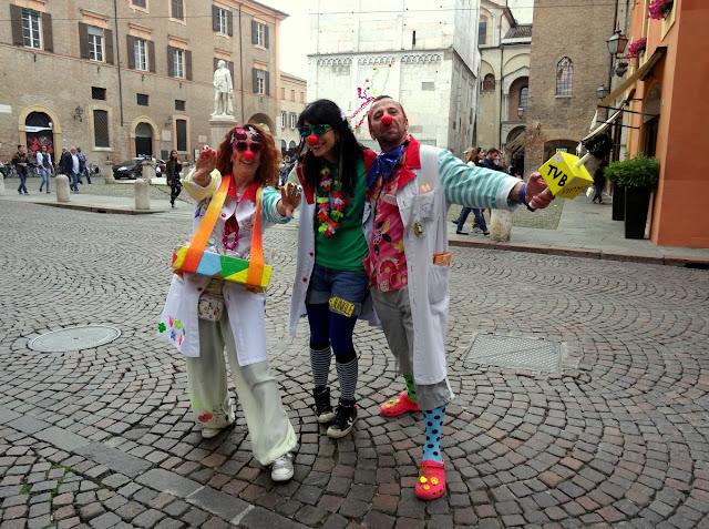 Clowns in Modena
