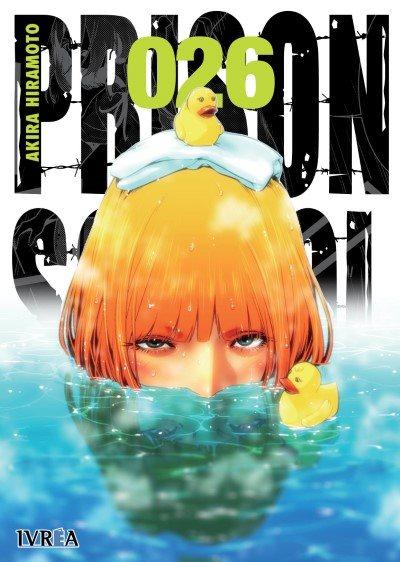 """Reseña de """"PRISON SCHOOL"""" (Kangoku Gakuen / 監獄学園) vol.26 de Akira Hiramoto - Ivréa"""