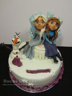 A Leonor teve um aniversário Frozen