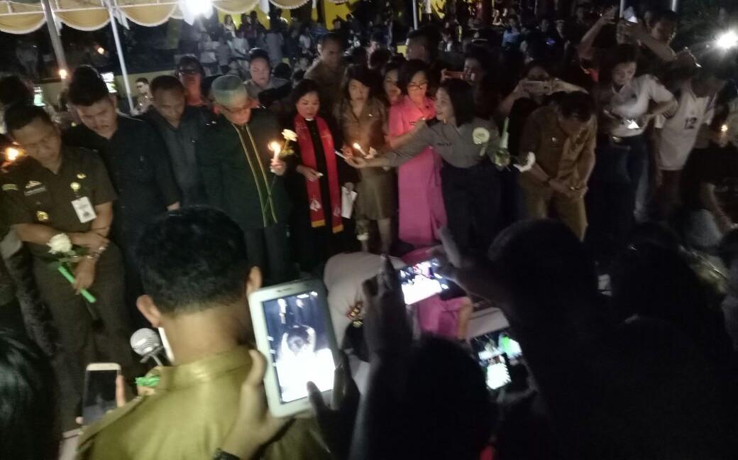 I Am Amurang dalam Doa dan Sejuta Lilin Untuk Korban Terorisme