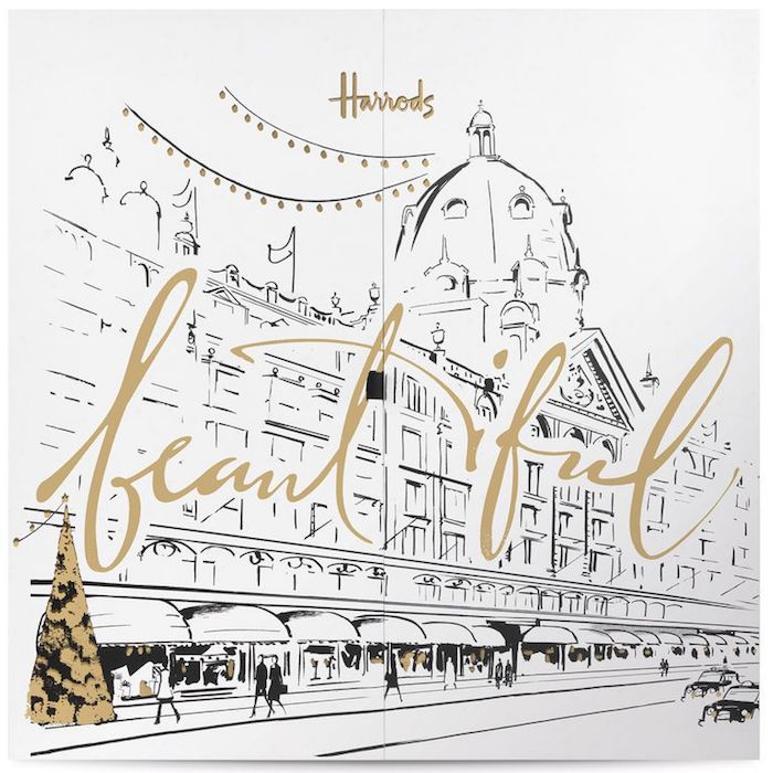 Harrods Beauty Advent Calendar 2018 Contents, Spoilers: Ships worldwide