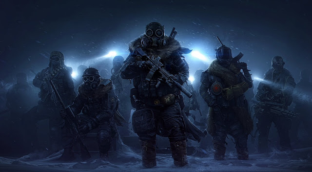 Artwork from Wasteland 3