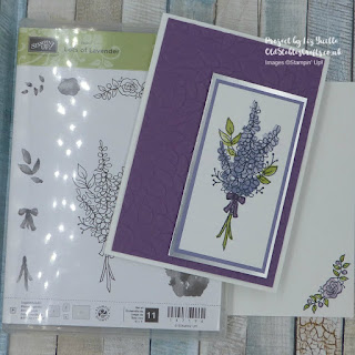 Lots of Lavender Layered and Embossed Card