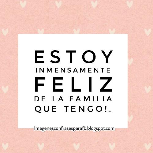 Imagenes Bonitas Y Pensamientos Positivos Frase Para Mi Familia