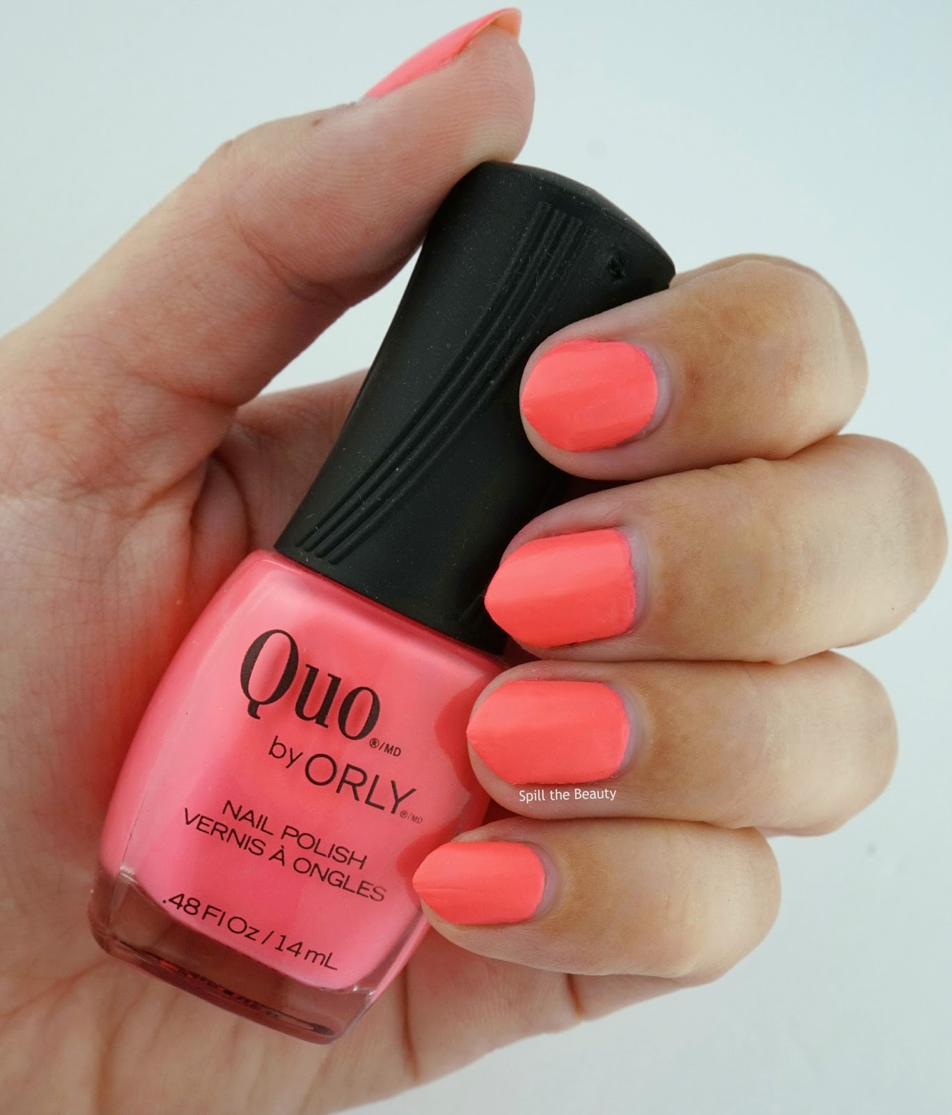 quo by orly summer 2016 pink bikini swatch nail polish