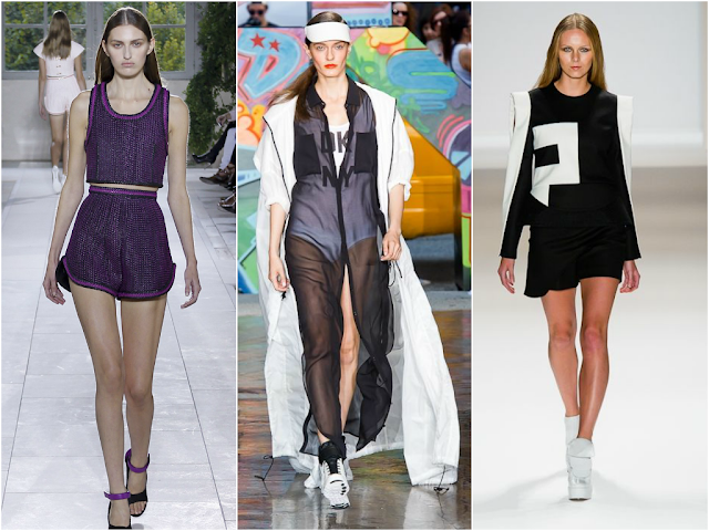 sports luxe trend fashion week